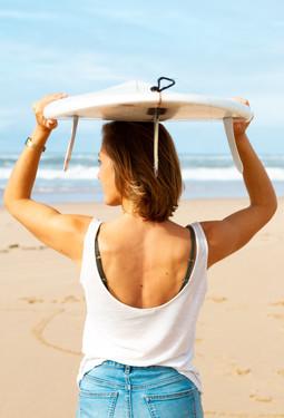 Surf girl lifestyle