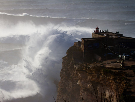 Nazaré, the home of the biggest waves in the world