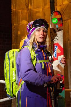 Lifestyle Portrait Ski freefider