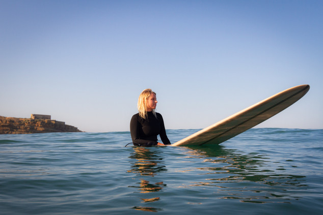 longboarding, surf photography, surfer girl, Ericeira, Portugal, surf photo