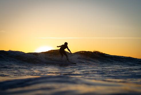Sunset surf Ericeira