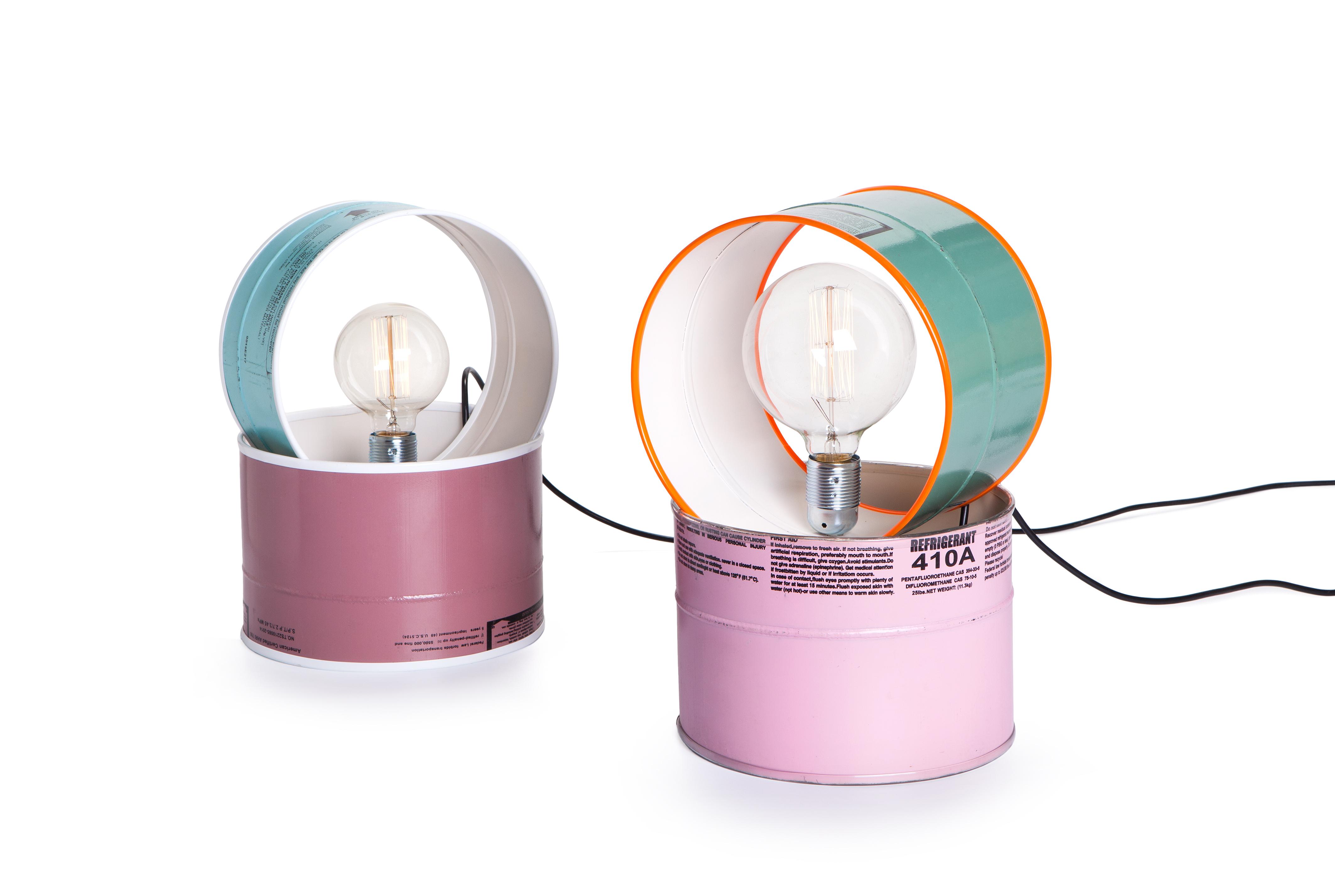 Gas Tank Lamp
