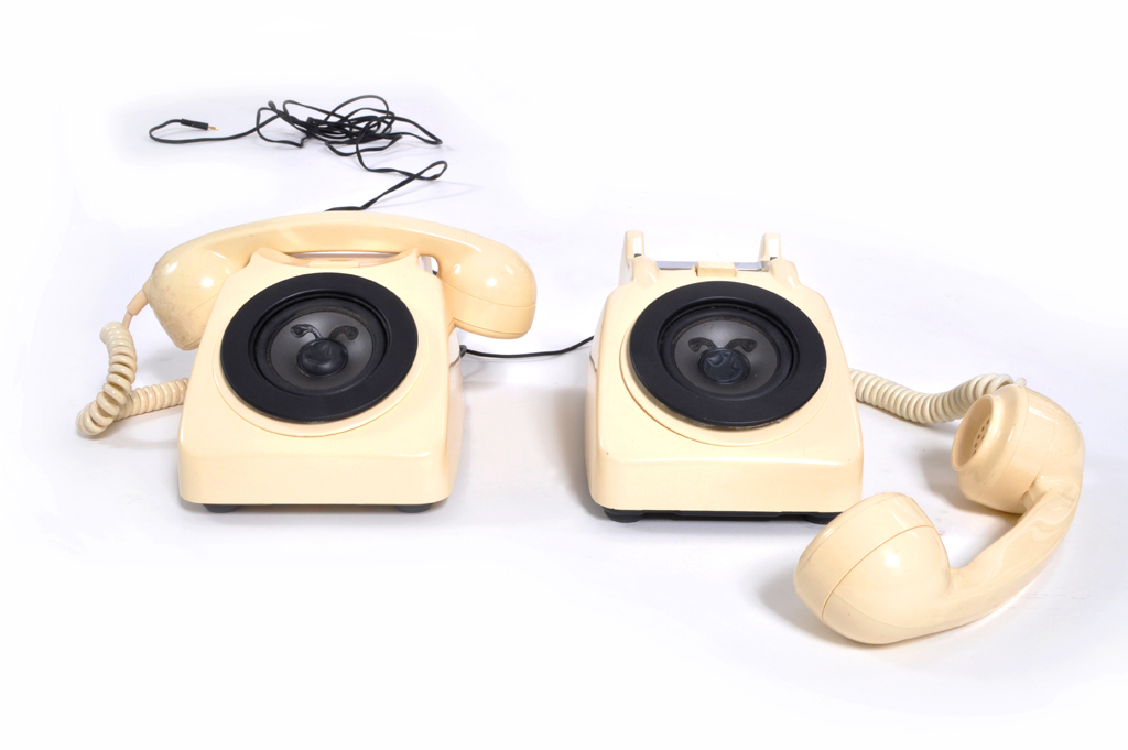 telephone speakers
