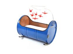 barrel crib