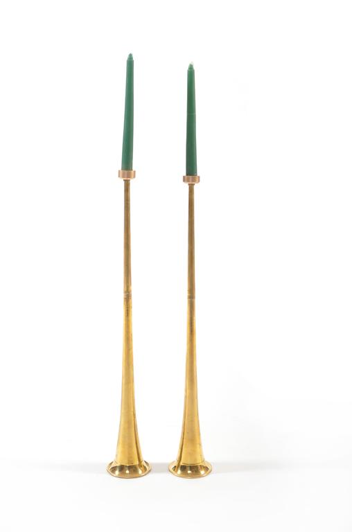 trumpet candlestick