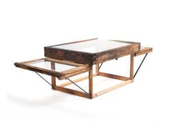 double window table