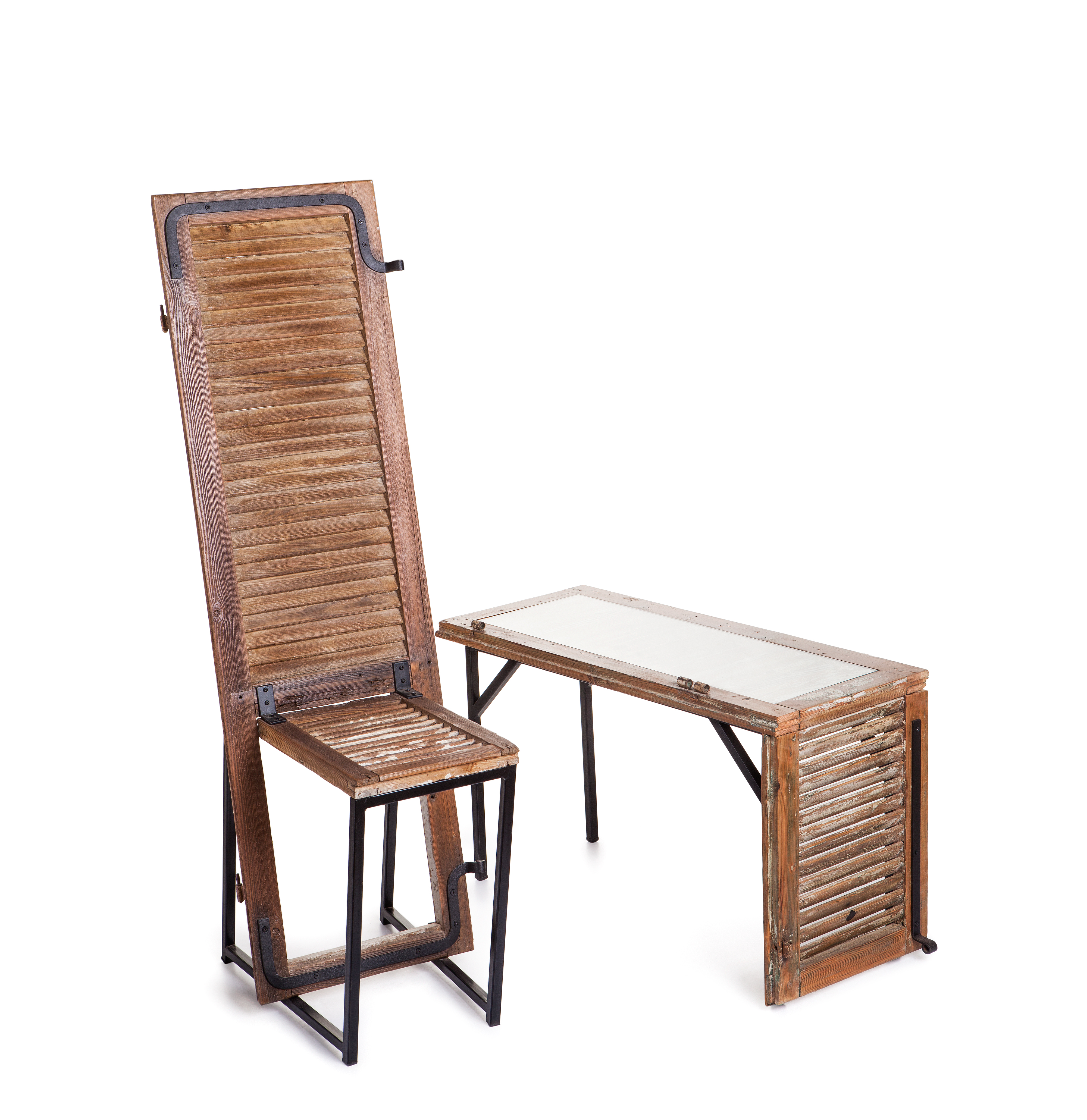 Wooden Shade Table & Chair