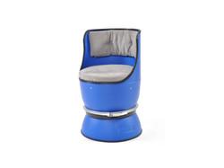 plastic barrel sofa