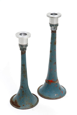 bicycle horn candlestick