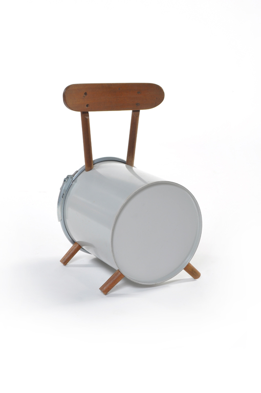 child barrel chair