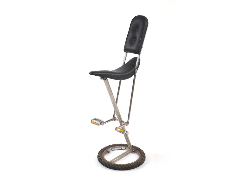 black chopper bicycle chair