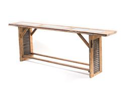 brown door table
