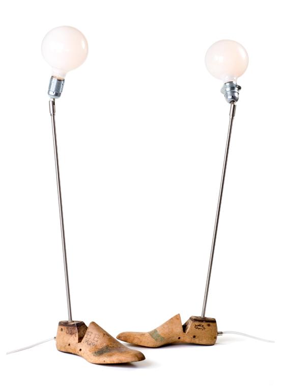 shoemaker's last lamp