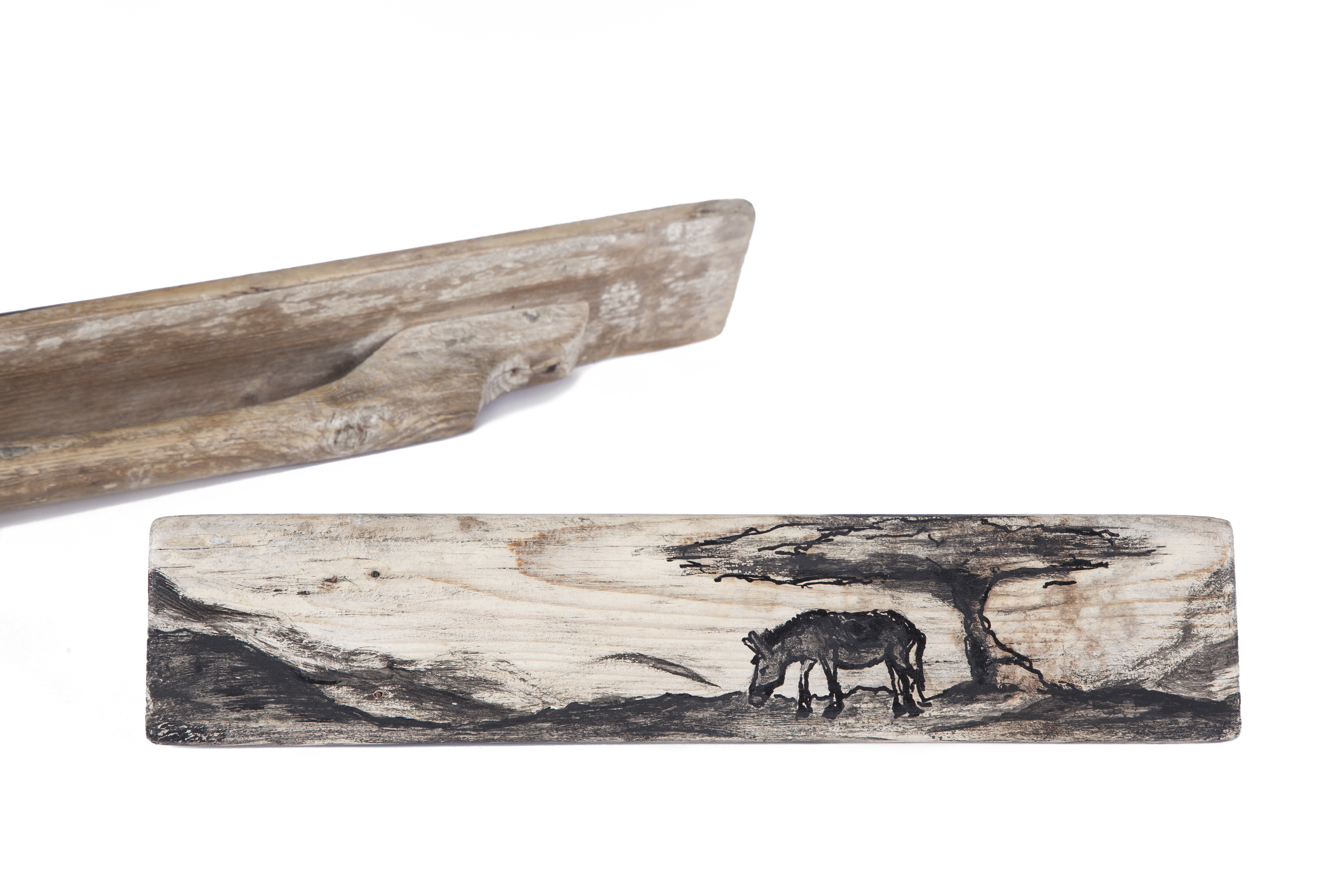 Wooden Plasterer Trowel Donkey