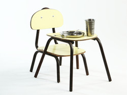 child chair table set