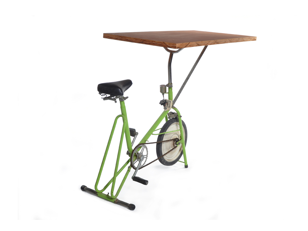 exercise bike table