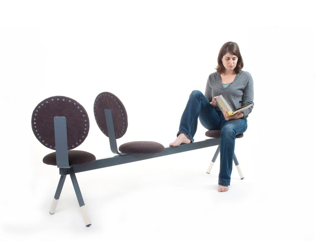 round seat bench