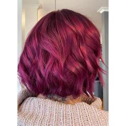Vibrant red/violet