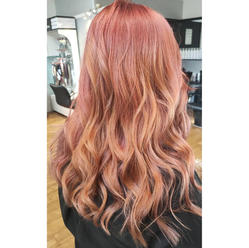 Beautiful mutli toned pink and copper