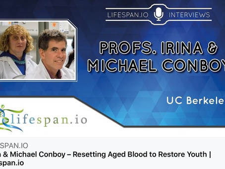Cambiare il sangue per riavere la giovinezza.