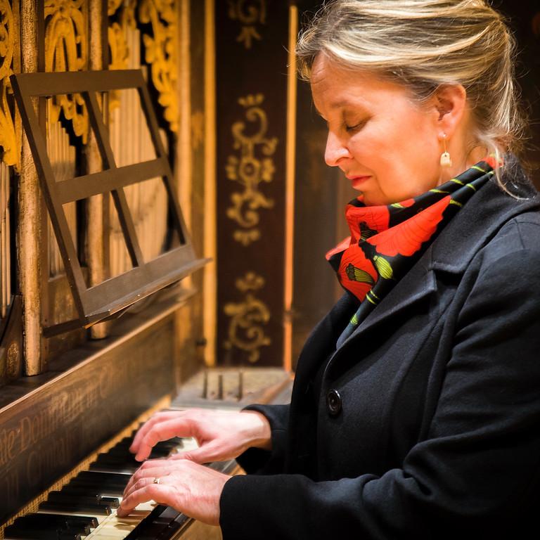 Orgelkonsert i Valö med Karin Nelson