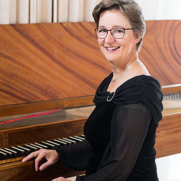 """Go Bach To Sleep"" Ulrika Davisson, klavikord & Lukas Arvidsson, Cahmanorgel"
