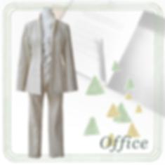 ECOMACO エコマコ フリルブラウス オフィス スタイリング