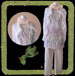 ECOMACO エコマコ 美人スカーフ お出かけコーデ オレンジ