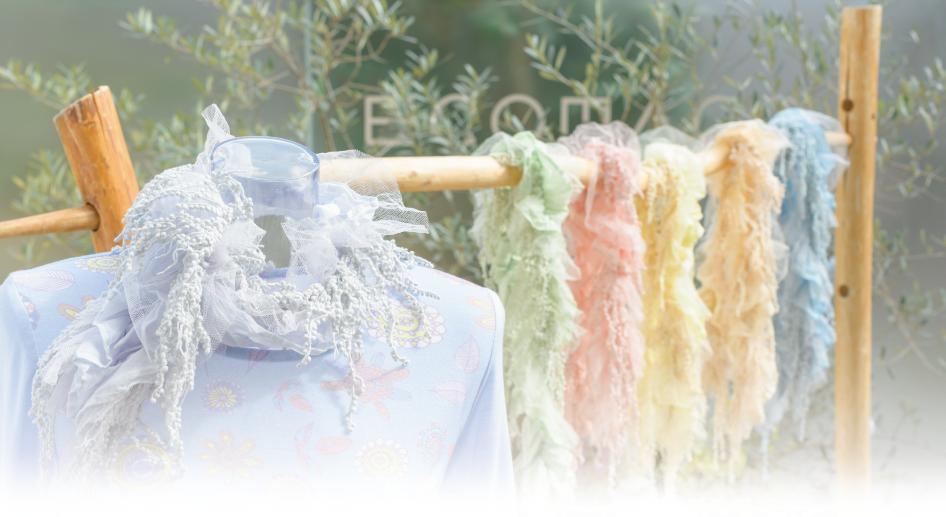 ECOMACO エコマコ スカーフ レース 冷房対策 ギフト
