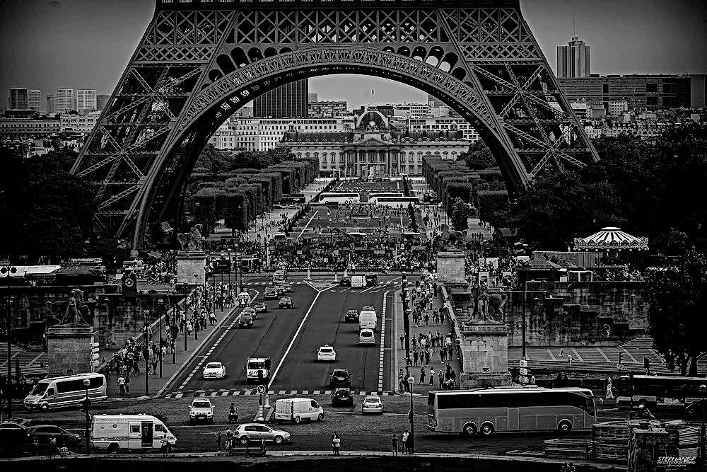 PARIS Rues Villes Photographie