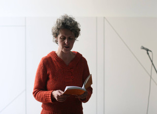 Performance poétique aux Editions de l'Atelier