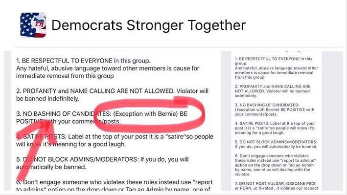 Media Bias - Democratic Group That Hate