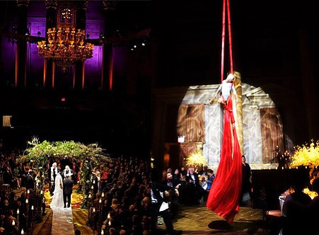 Wedding Entertainment Services in Los Angeles - Aerial Artistry