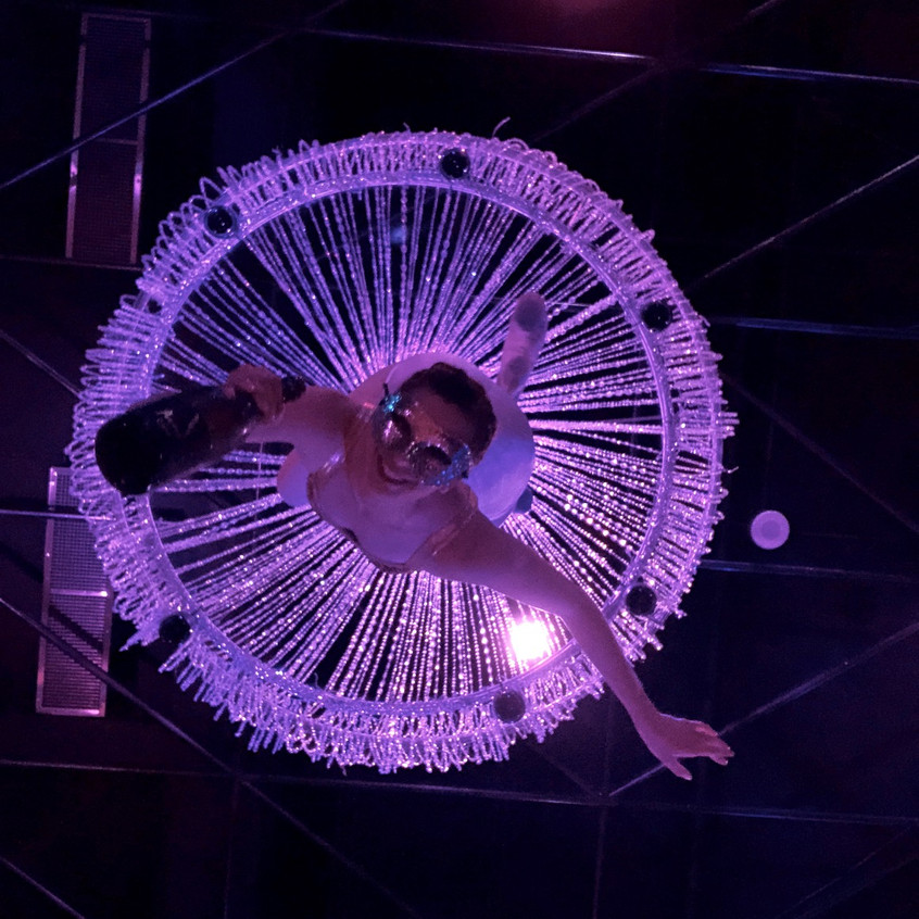 """""""ChampagneChandelier"""" by Aerial Artistry"""