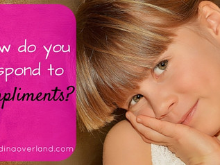 How do you respond to compliments?