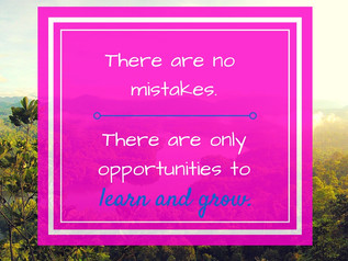 Why mistakes are a good thing