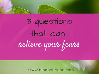3 questions that can relieve your fears