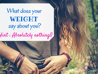 What does your weight say about you? (Hint: Absolutely nothing!)