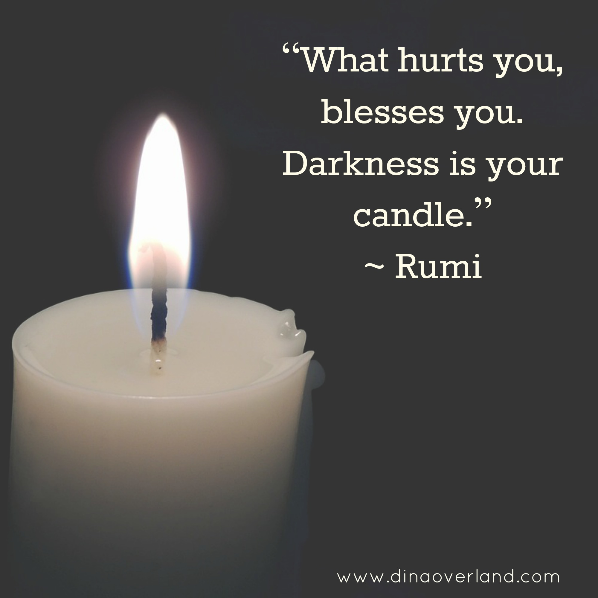 3 lessons about healing your emotional pain from Rumi