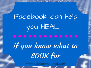 Facebook can help you heal...if you know what to look for