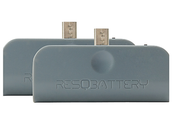 2 ResQBatteries | Gray