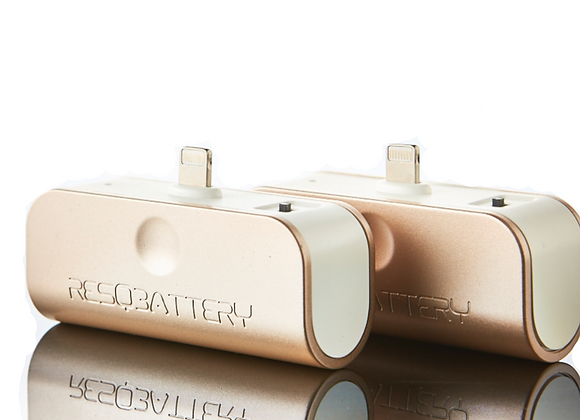 New 2-in-1 ResQBatteries | Rose Gold