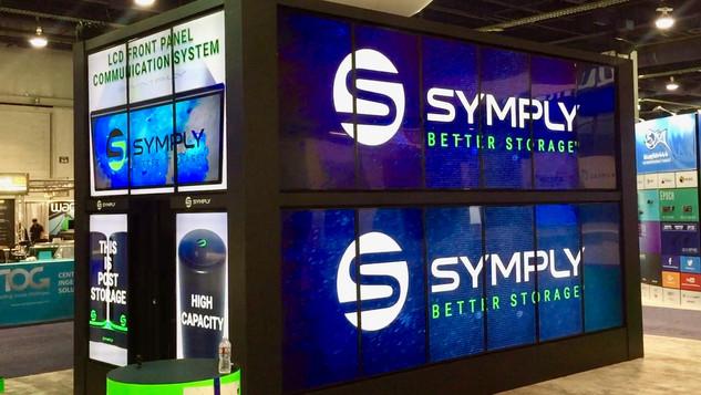 "65"" Monitor Video Wall"
