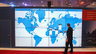 """4x4 55"""" Seamless Multi-Touch Video Wall"""