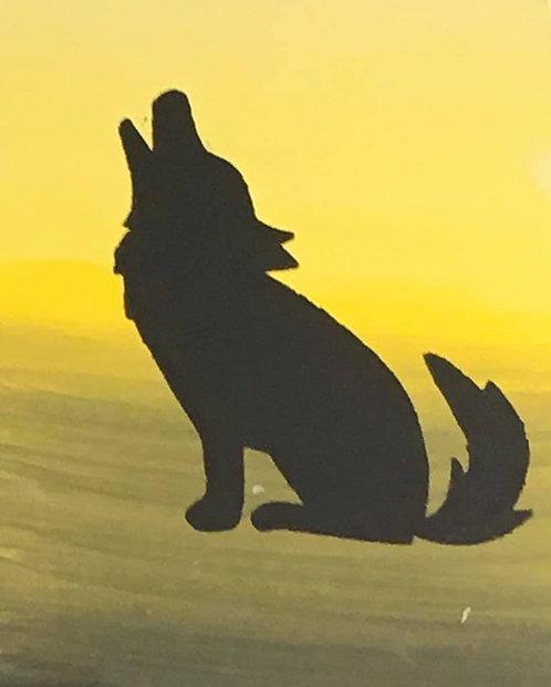 Wolf 11x14 Canvas
