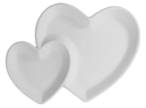 Double Heart Dish