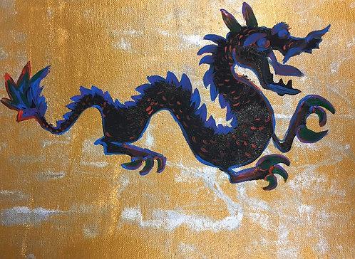 Dragon Canvas 8x10