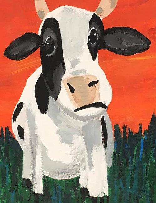 Cow 11x14 Paper