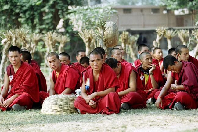 Dalai Lama Teaching India