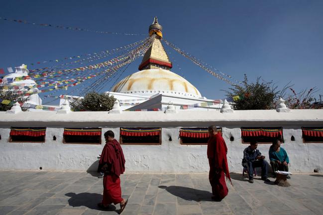 Boudha Stupa Katmandu Nepal